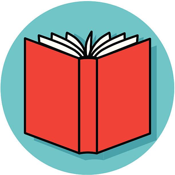 A vector icon of an open book.